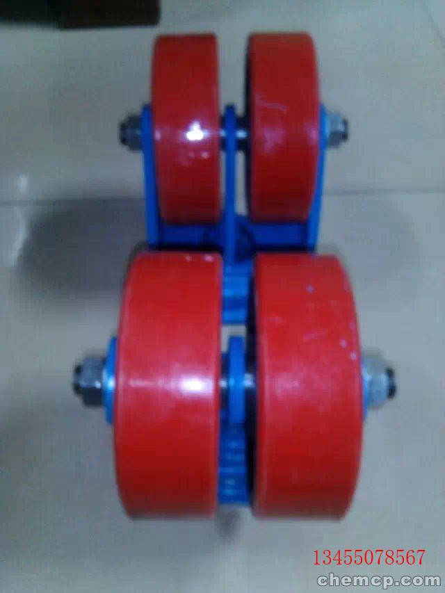 吉林省万向工业重型脚轮 双轮刹车重型脚轮+现货