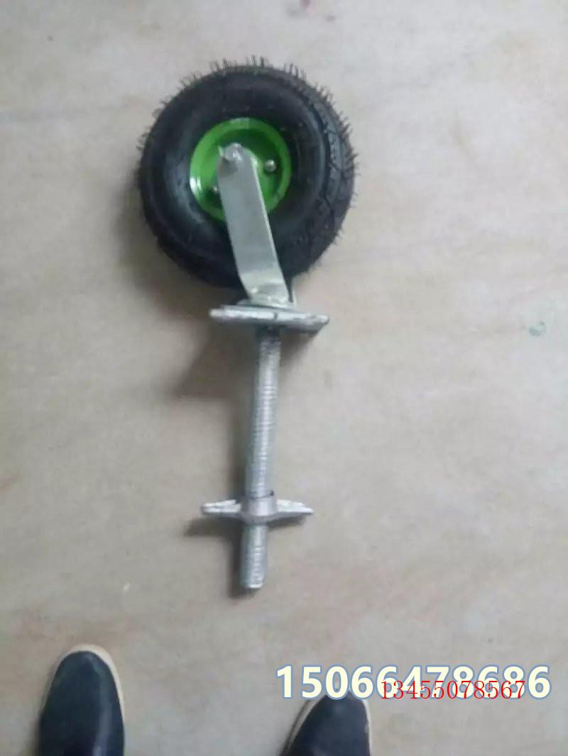 焊接双轮脚轮 轻型转向双轮制造标准