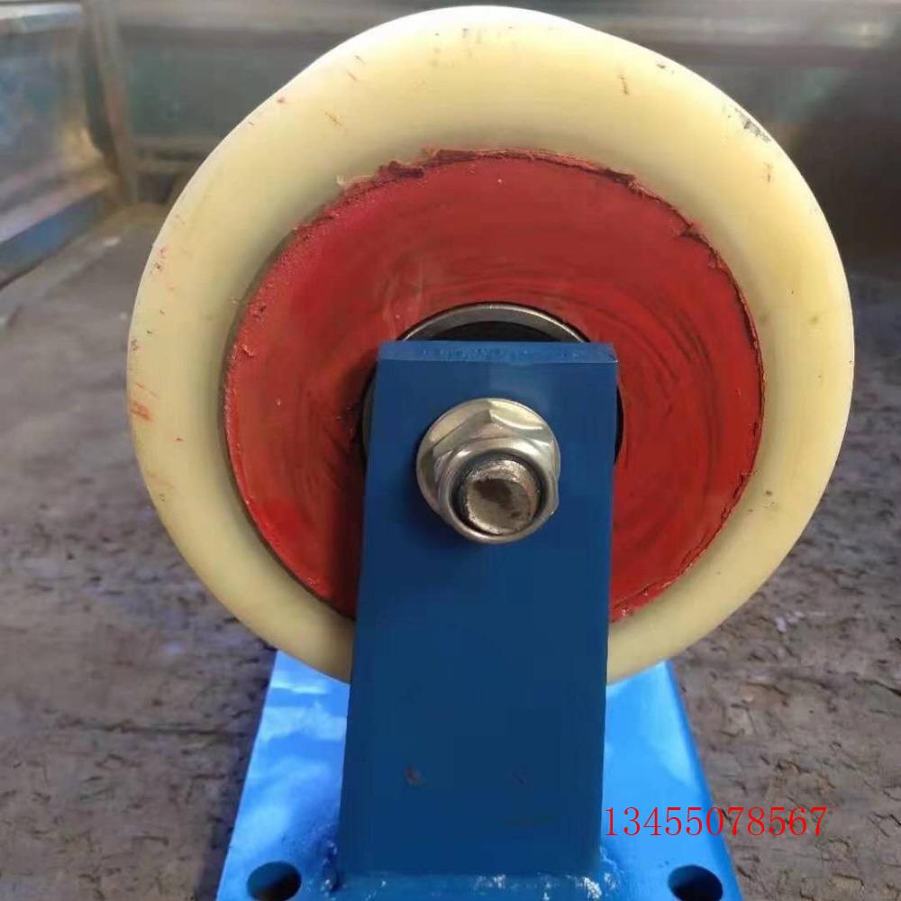 承重1.5吨重型铁芯聚氨酯万向脚轮 铁芯重型聚氨酯脚轮价格