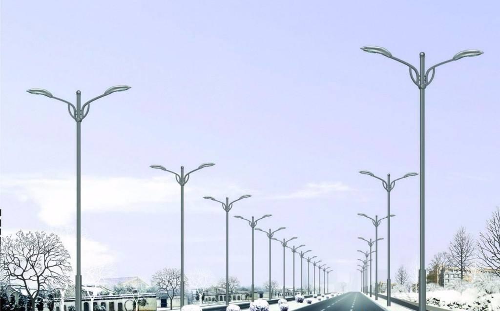 湖北十堰7米LED路灯厂家成套定做价格