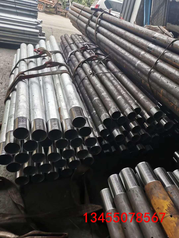 内外车丝连接钢管3寸矿用丝扣钢管 152钢管打孔采购