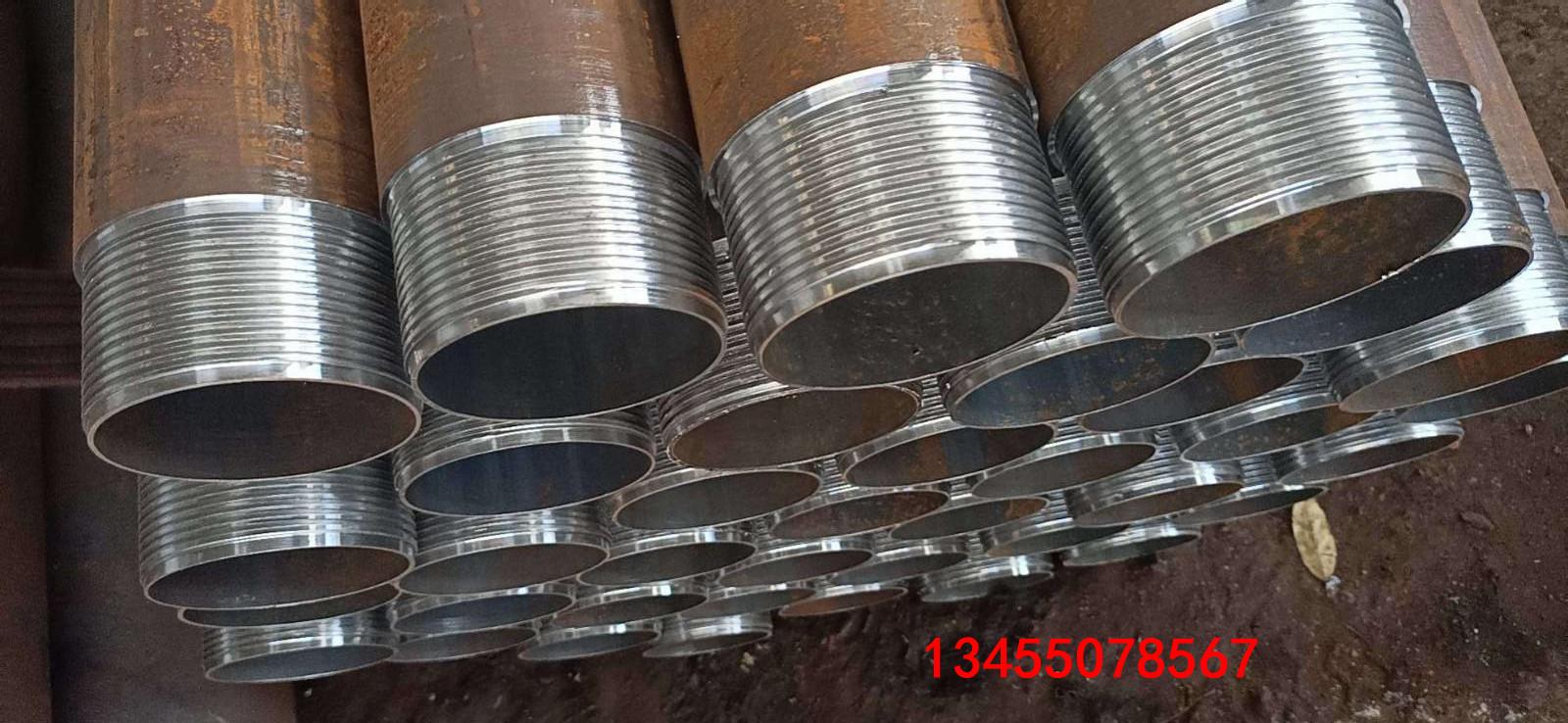 钢管丝扣连接套管优质工厂 焊接钢管钢管护筒尺寸计算