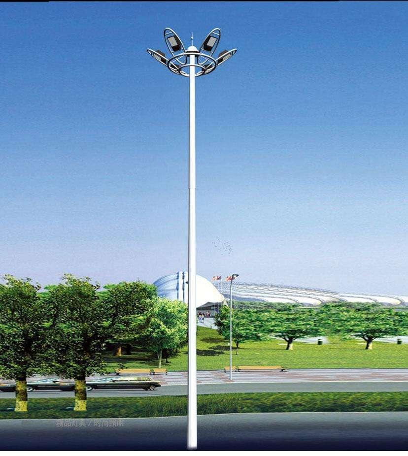 广西壮族自治区梧州20米高杆灯安装指导