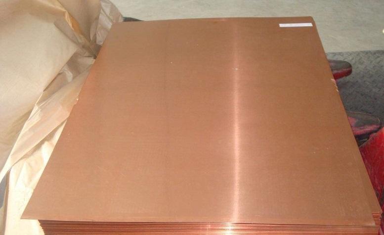 东营大板面紫铜板市场价格
