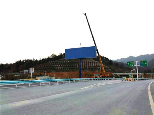 毕节单立柱制作公司-施工安装