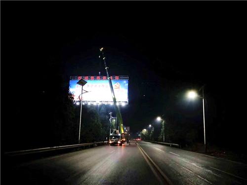 萍乡高速广告牌制作公司—擎天柱制作