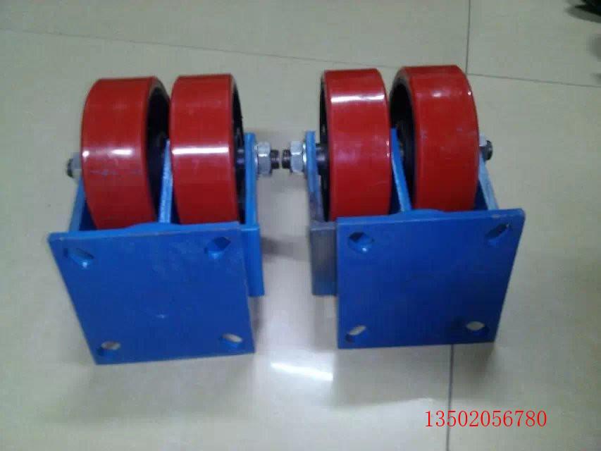 重型铁芯充气万向轮【规格】 重型铁芯万向工业脚轮一体化