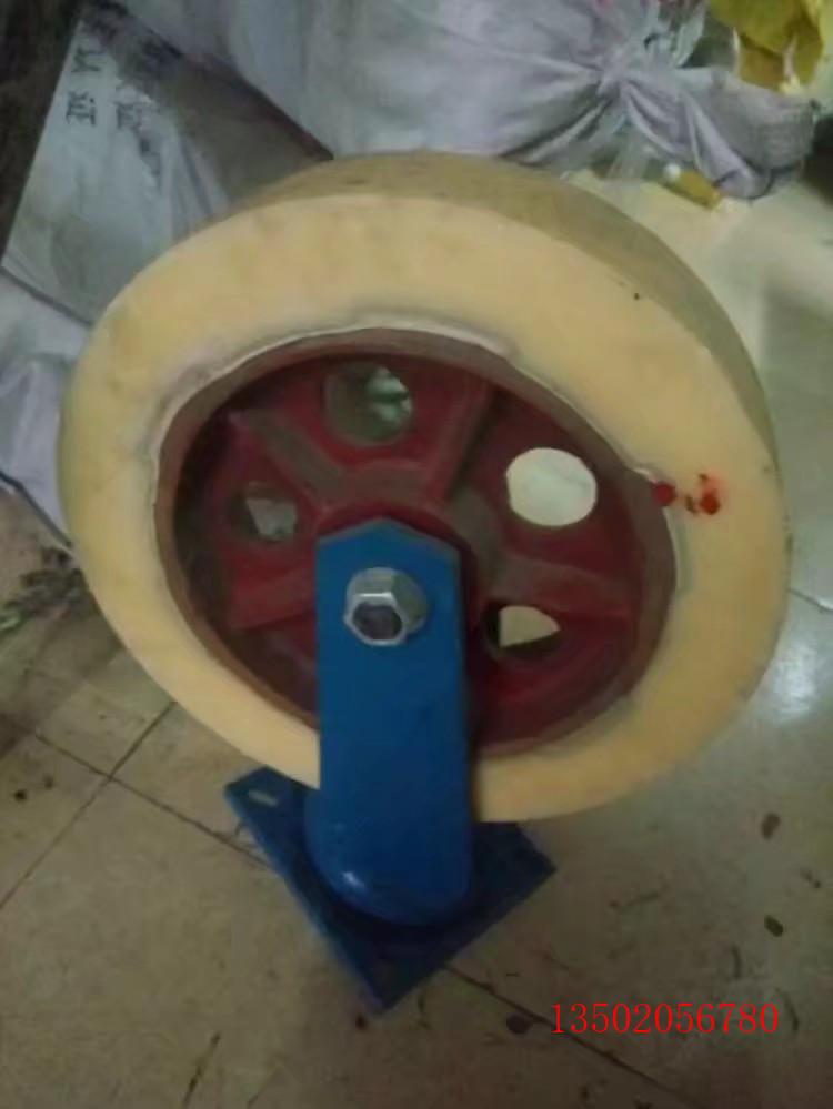 白尼龙重型铁芯万向轮「厂家」资讯 承重800公斤脚轮供应