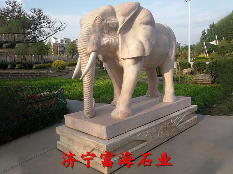 阿尔山石雕大象价格服务至上-业务面向全国