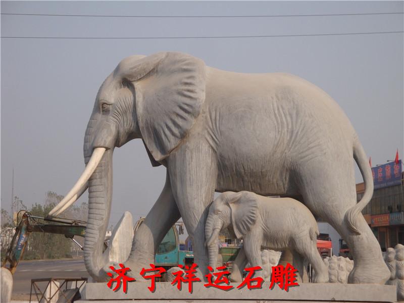 桐乡晚霞红石雕大象厂家公司详情点击