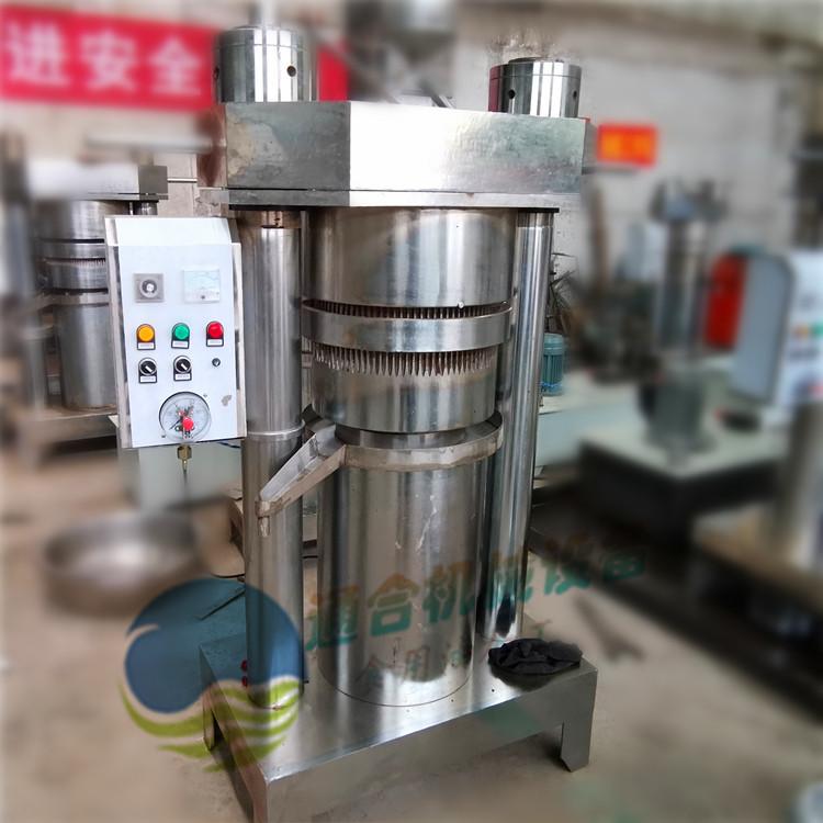 芝麻香油机 全自动液压榨油机 芝麻香油液压机厂家
