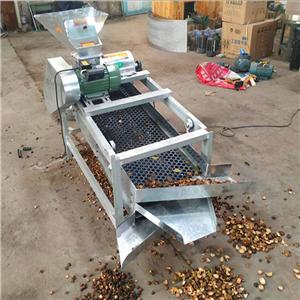 茶籽剥壳机 高效油茶果脱壳机 油茶果剥壳机价格优惠