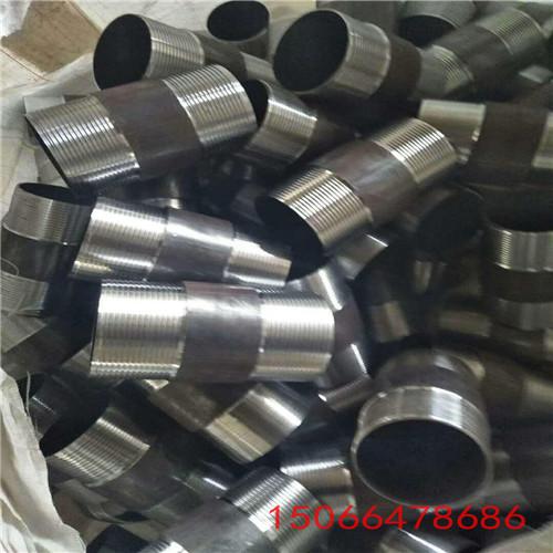 50矿用丝扣钢管镀锌钢管车丝 钢管丝扣接头_