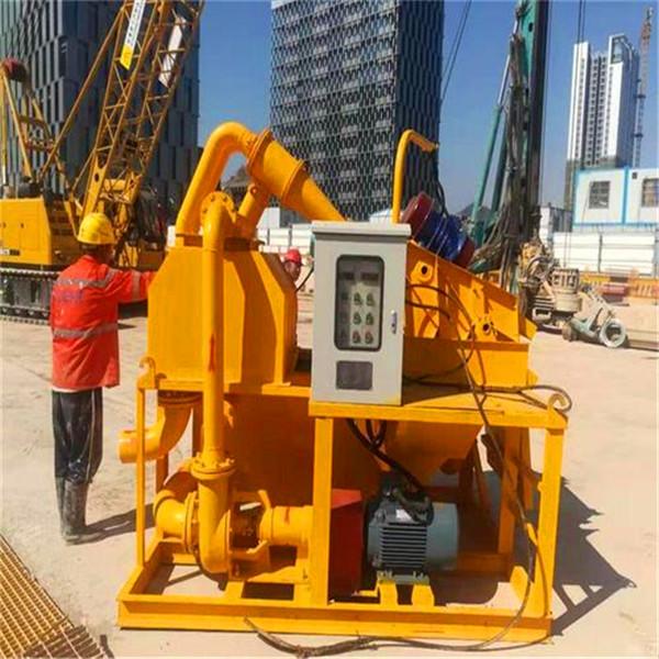 旋挖钻机泥水分离设备施工方案