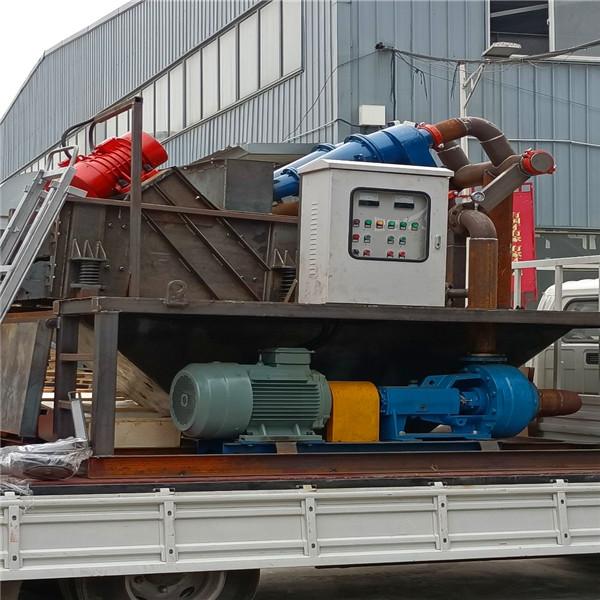 泥浆处理装置施工方案
