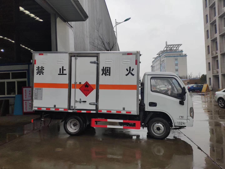 8吨的危险品运输车批量生产