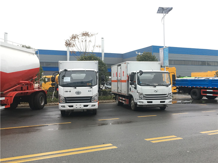 宿迁东风天锦6.8米1-9类危运车厂家直供