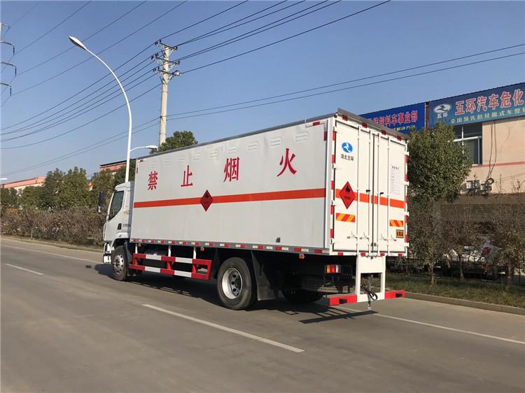 泸州解放虎V4.2米重金属危废车厂家报价