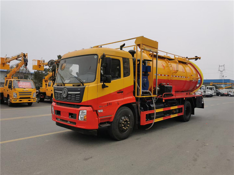 重慶國六5-32方新型不銹鋼多功能吸污車批發定制