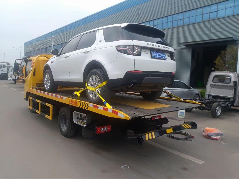 东风多利卡清障车带吊机生产厂家