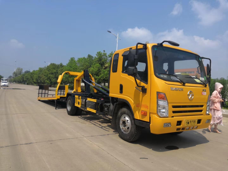 国六一拖一道路事故救援拖车大概价格