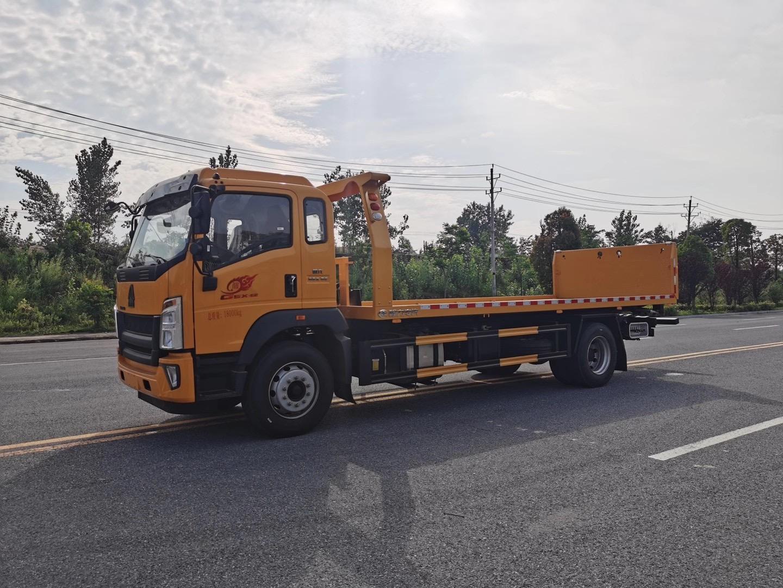 东风多利卡道路施救拖车本月优惠出厂价