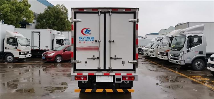 雅安福田欧马可4米多冷冻品配送车可按需求定制