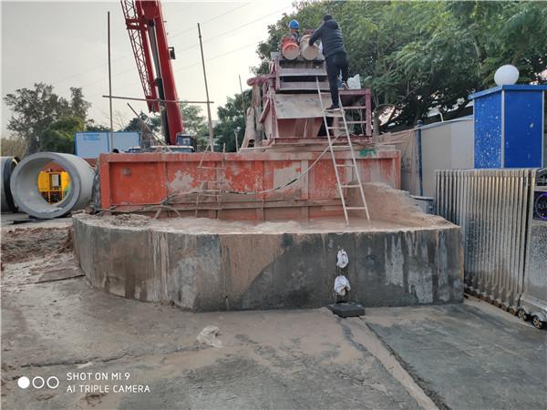 临汾地下隧道盾构工程沙石净化设备厂家供应