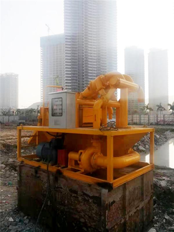 旋挖钻机砂石分离机
