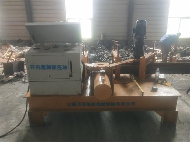 湖北潜江市液压槽钢折弯机制作